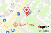 Схема проезда до компании Первый брокер в Смоленске