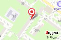 Схема проезда до компании Учебно-информационный центр в Смоленске