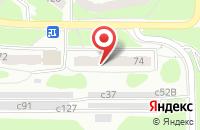 Схема проезда до компании Галант - Сервис в Смоленске