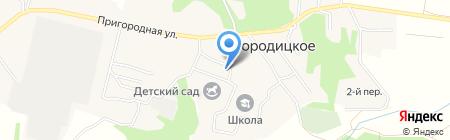 Храм в честь Успения Божией Матери на карте Богородицкого