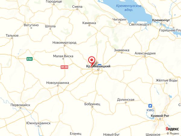 посёлок городского типа Новое на карте