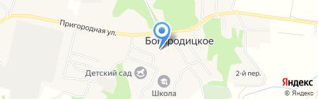 Почтовое отделение на карте Богородицкого