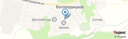 Коопмаркет на карте Богородицкого