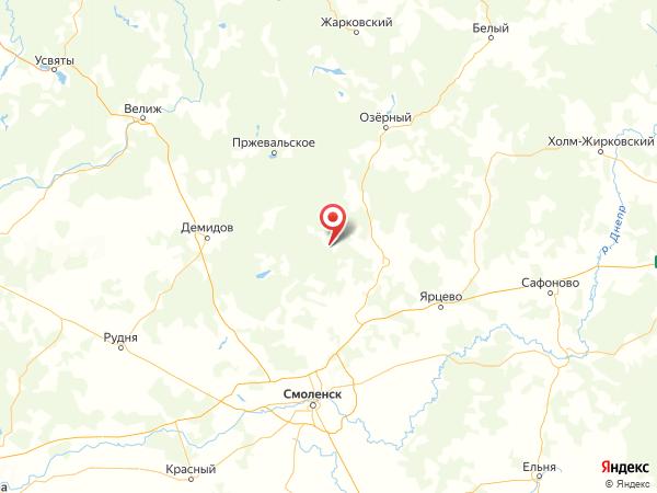 деревня Булгаково на карте