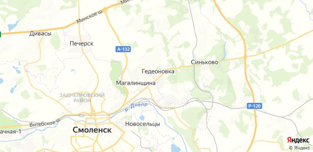 Гедеоновка на карте
