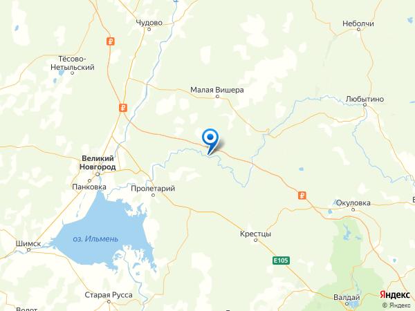 деревня Красная Горка на карте