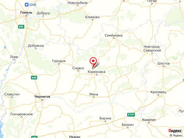 село Наумовка на карте