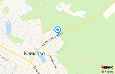 Местоположение на карте пункта техосмотра по адресу Брянская обл, рп Климово, ул Брянская