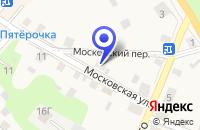 Схема проезда до компании РЫНОК в Малой Вишере