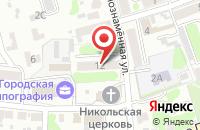 Схема проезда до компании Инвестпром в Клинцах