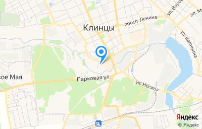 Местоположение на карте пункта техосмотра по адресу Брянская обл, г Клинцы, ул Богунского Полка, д 9
