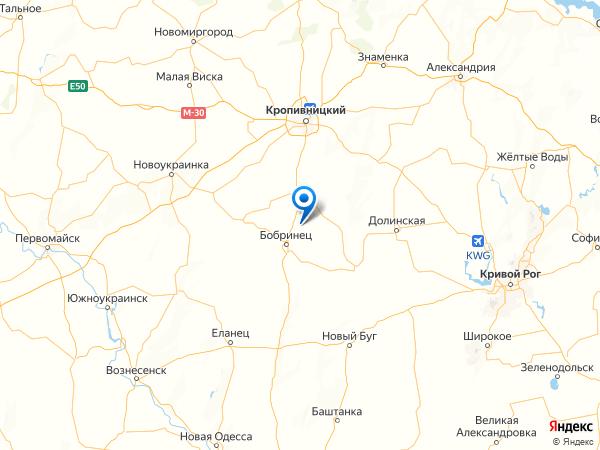 село Златополье на карте