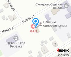 Схема местоположения почтового отделения 243118