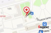 Схема проезда до компании Экспресс в Волхове