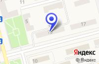 Схема проезда до компании МАГАЗИН БЫТОВОЙ ТЕХНИКИ ЭЛЕГАНТ в Коммунаре
