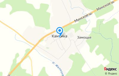 Местоположение на карте пункта техосмотра по адресу Смоленская обл, Кардымовский р-н, д Каменка