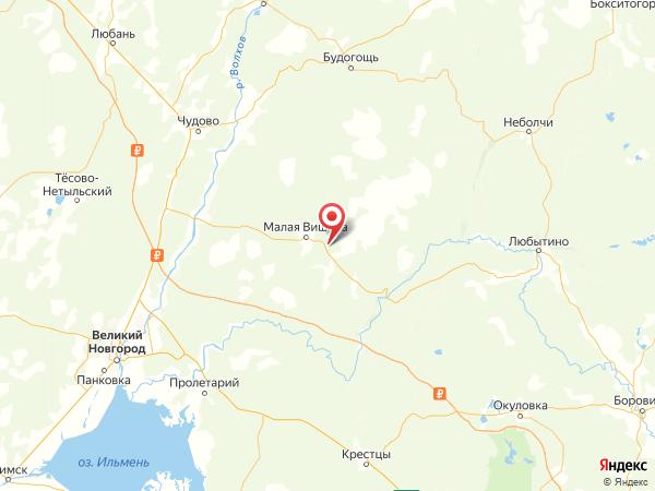 деревня Дора на карте
