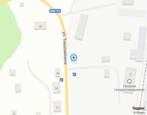 Управляющая компания «Управдом» на карте Суоярви