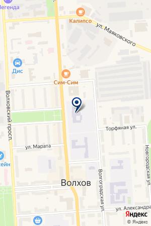 СЕВЕРО-ЗАПАДНЫЙ ГОСУДАРСТВЕННЫЙ ЧНЫЙ ТЕХНИЧЕСКИЙ УНИВЕРСИТЕТ на карте Кировска