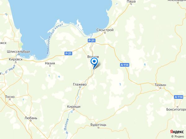 деревня Вындин Остров на карте