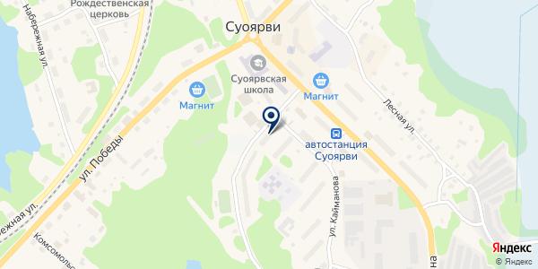 ПРОМТОВАРНЫЙ МАГАЗИН КЕЛККА Т.В. на карте Суоярви
