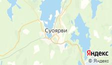 Отели города Суоярви на карте