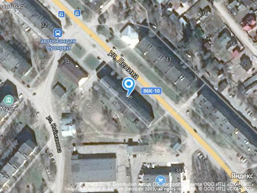 Продается 2-комнатная квартира, 50 м², Суоярви, улица Ленина, 36
