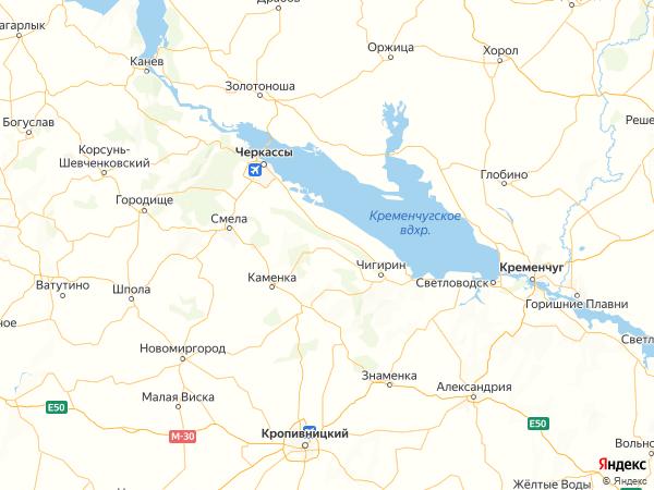 село Медведевка на карте