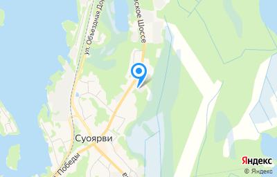 Местоположение на карте пункта техосмотра по адресу Респ Карелия, г Суоярви, ул Суоярвское шоссе, д 72