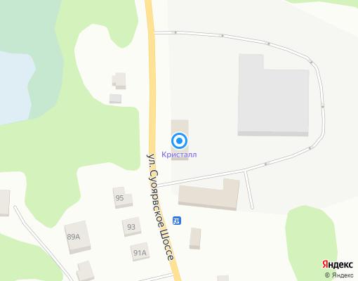 Управляющая компания «Суоярвская КУМИ» на карте Суоярви