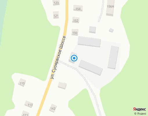 Управляющая компания «Водоканал» на карте Суоярви