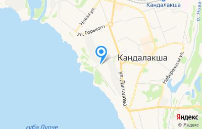 Местоположение на карте пункта техосмотра по адресу Мурманская обл, г Кандалакша, ул Заводская, д 3