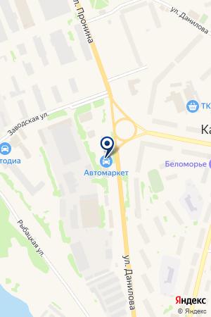 АВТОМАРКЕТ на карте Кандалакши