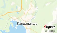 Гостиницы города Кандалакша на карте