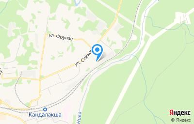 Местоположение на карте пункта техосмотра по адресу Мурманская обл, г Кандалакша, ул Мурманская, д 50