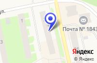 Схема проезда до компании КАФЕ ЛИРА в Заозерске