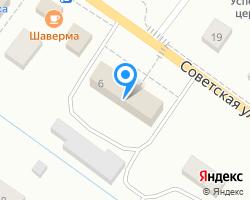 Схема местоположения почтового отделения 187120