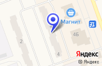 Схема проезда до компании ЮВЕЛИРНЫЙ МАГАЗИН АЛМАЗ в Полярных Зорях