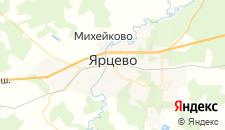 Отели города Ярцево на карте