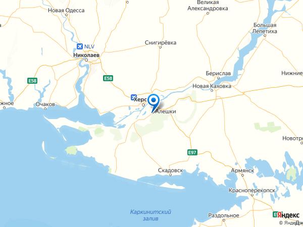 поселок Подлесное на карте