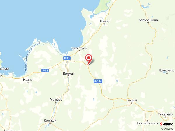 деревня Кулаково на карте
