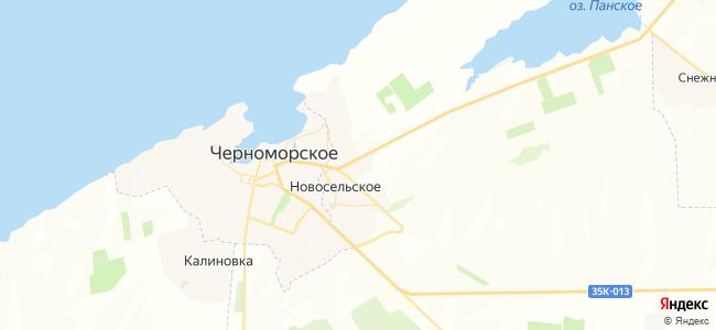 Гостевые дома Черноморского - объекты на карте
