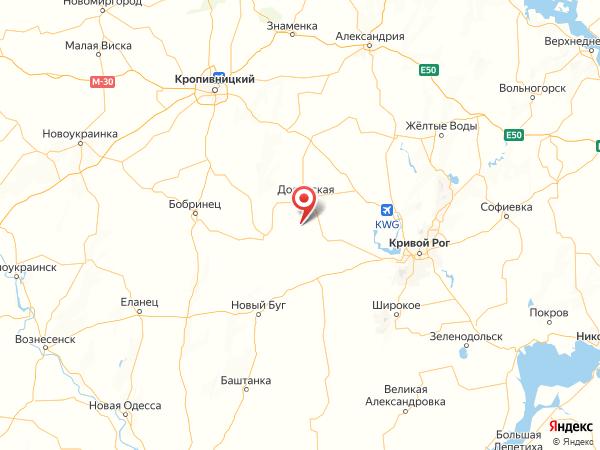 село Садки на карте
