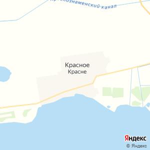 Карта города Красного