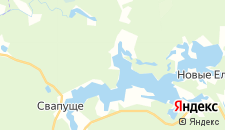 Отели города Жалыбня на карте