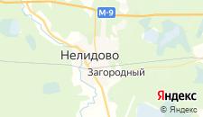 Гостиницы города Нелидово на карте