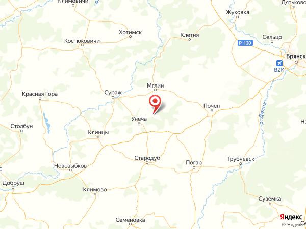 село Павловка на карте