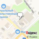 Магазин салютов Рославль- расположение пункта самовывоза