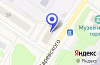 Схема проезда до компании ПРОМТОВАРНЫЙ МАГАЗИН МЕРКУРИЙ в Мончегорске