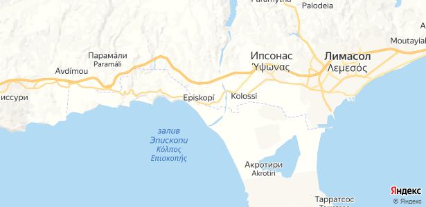 Episkopi на карте